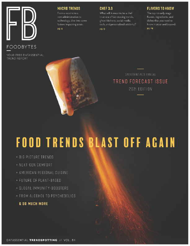 FoodBytes food trends 2021